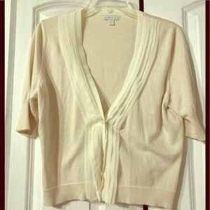 NY&Co Short Sleeve Cardigan